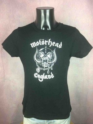 T-Shirt MOTORHEAD , édition England, Official License ©2011, marque Startee, Rock'n Roll Ace Bomber Hammersmith Lemmy Concert