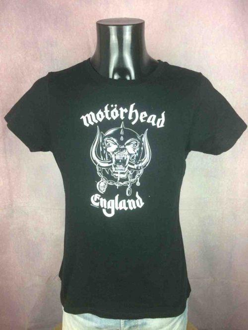T-Shirt MOTORHEAD, édition England, Official License ©2011, marque Startee, Rock'n Roll Ace Bomber Hammersmith LemmyConcert
