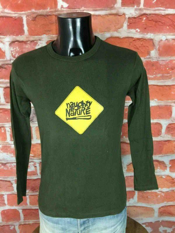 NAUGHTY BY NATURE T Shirt Vintage Rap Hip Hop Old Skool Hooray OPP Gabba Vintage 2 - NAUGHTY BY NATURE T-Shirt Vintage 90s Rap