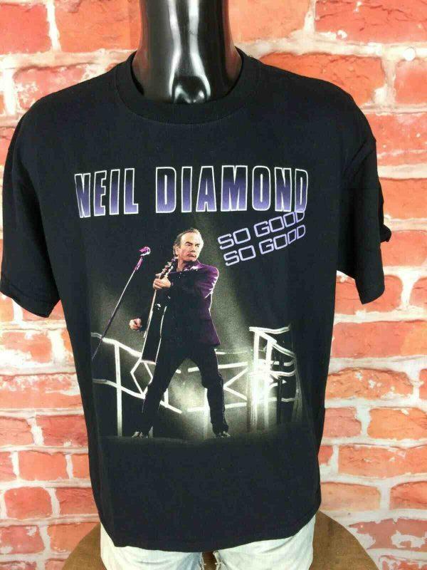 NEIL DIAMOND T Shirt Concert World Tour 2008 Gabba Vintage 1 - NEIL DIAMOND T-Shirt Concert World Tour 2008