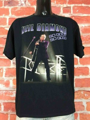 NEIL DIAMOND T-Shirt Concert World Tour 2008 - Gabba Vintage (3)
