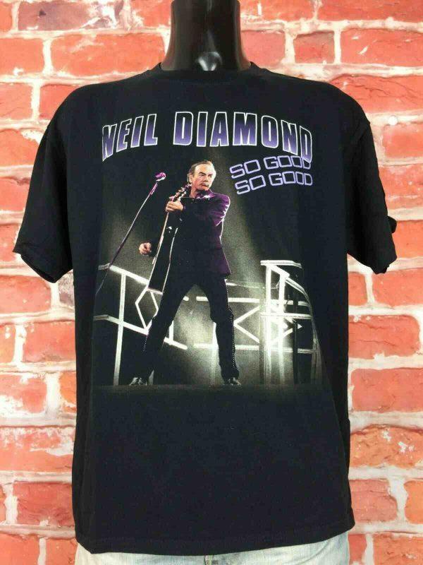 NEIL DIAMOND T Shirt Concert World Tour 2008 Gabba Vintage 3 - NEIL DIAMOND T-Shirt Concert World Tour 2008