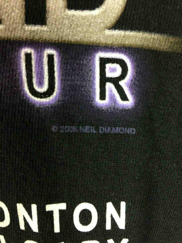 NEIL DIAMOND T Shirt Concert World Tour 2008 Gabba Vintage 4 - NEIL DIAMOND T-Shirt Concert World Tour 2008