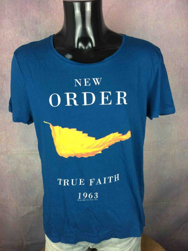 NEW ORDER T Shirt True Faith 1963 Official License Factory Joy Division Sleeve Gabba Vintage 5 scaled - NEW ORDER T-Shirt True Faith 1963 Official