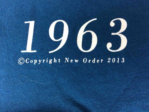 NEW ORDER T Shirt True Faith 1963 Official License Factory Joy Division Sleeve Gabba Vintage 8 scaled - NEW ORDER T-Shirt True Faith 1963 Official