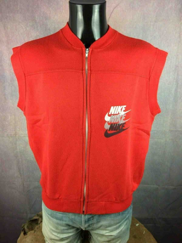 NIKE Gilet Vintage 90s Made in Italy Basket Gabba Vintage 1 - NIKE Gilet Vintage 90s Made in Italy Basket