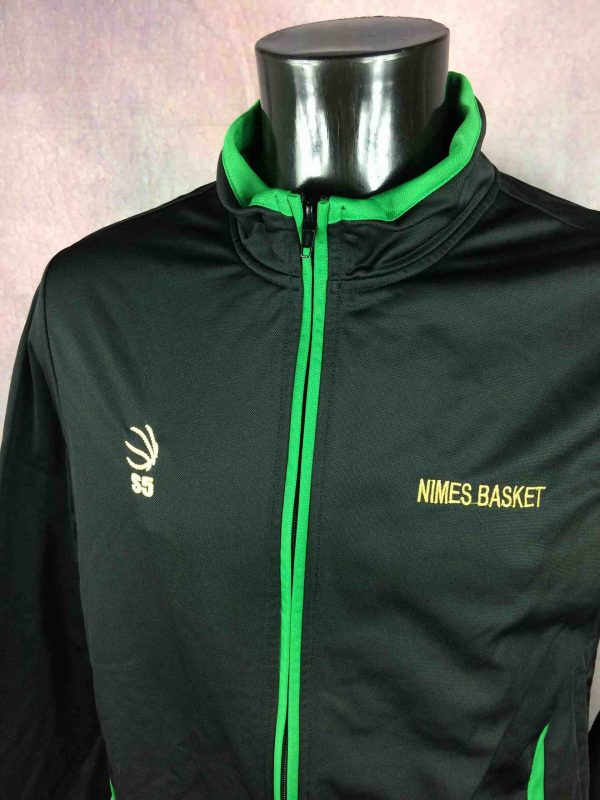 NIMES BASKET Veste S5 France NF2 Sport Match Gabba Vintage 3 scaled - NIMES BASKET Veste S5 France NF2 Sport Match
