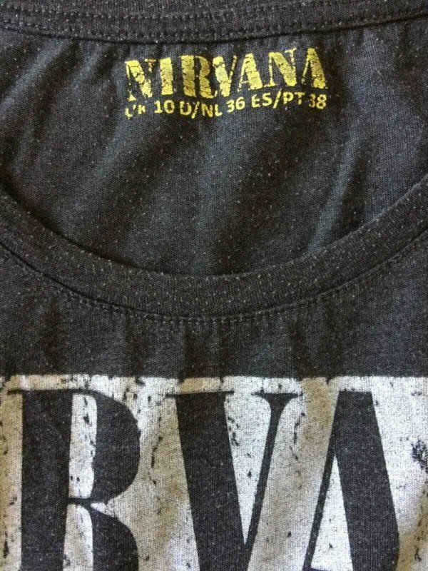 NIRVANA T Shirt Official License 1993 Roseland Ballroom NY Cobain Grohl Krist Gabba Vintage 3 - NIRVANA T-Shirt Official 93 Live Roseland