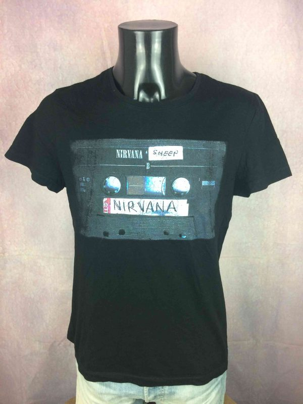 NIRVANA T Shirt Sheep Official 2014 K7 Tapes Gabba Vintage 2 scaled - NIRVANA T-Shirt Sheep Official 2014 K7 Tapes