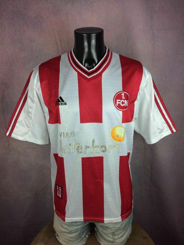 NURNBERG Jersey 1998 1998 Home Adidas FCN - Gabba Vintage