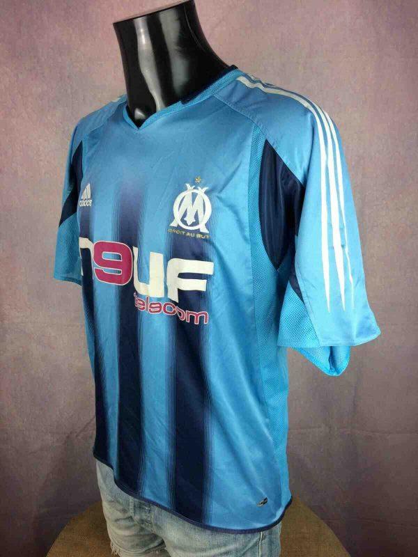 OM Maillot 2004 2005 Adidas Away Marseille Gabba Vintage 2 - MARSEILLE Maillot 2004 2005 Adidas Away OM