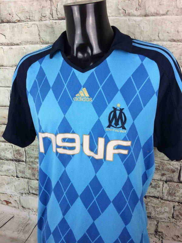 OM Maillot 2008 2009 Adidas Away Marseille Gabba Vintage 3 scaled - MARSEILLE Maillot 2008 2009 Adidas Away OM Football