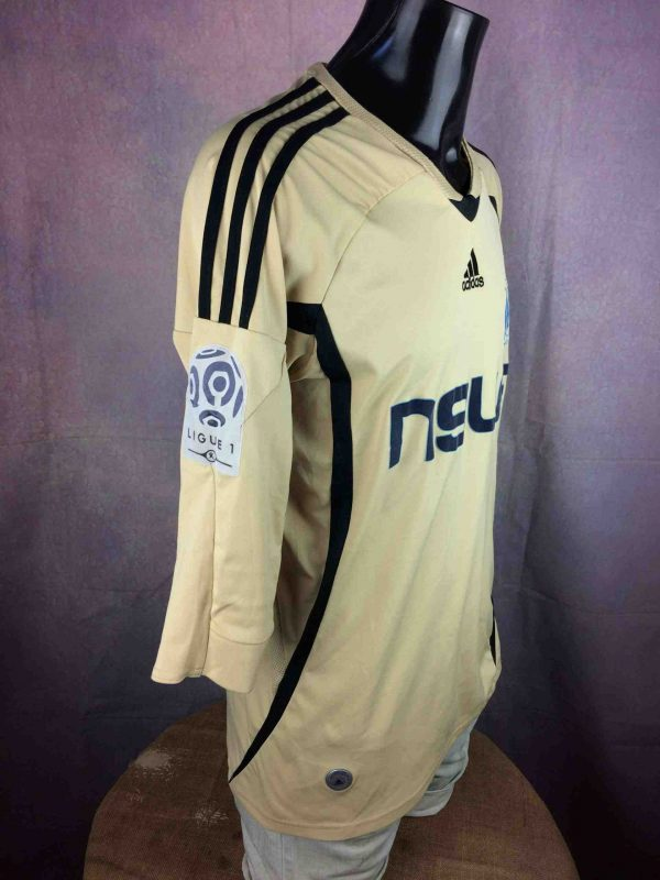 OM Maillot 2008 2009 Adidas Third L1 Patch Gabba Vintage 4 scaled - MARSEILLE Maillot 2008 2009 Adidas Third OM
