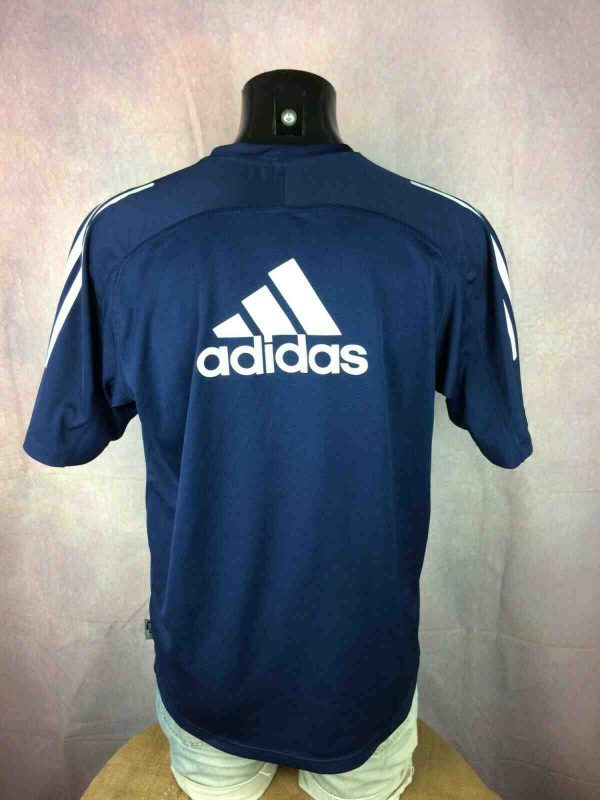 OM Maillot Training 2001 2002 Vintage Adidas Gabba Vintage 3 - MARSEILLE Maillot Training 2001 OM Vintage