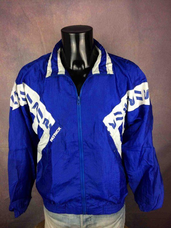 PATRICK Windbreaker Veste Vintage 90s Nylon Gabba Vintage 3 scaled - PATRICK Windbreaker Veste Vintage 90s Nylon