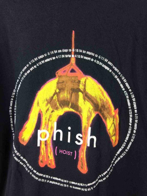 PHISH T Shirt Hoist Tour 1994 Giant Vintage Gabba Vintage 1 - PHISH T-Shirt Hoist Tour 1994 Giant Vintage