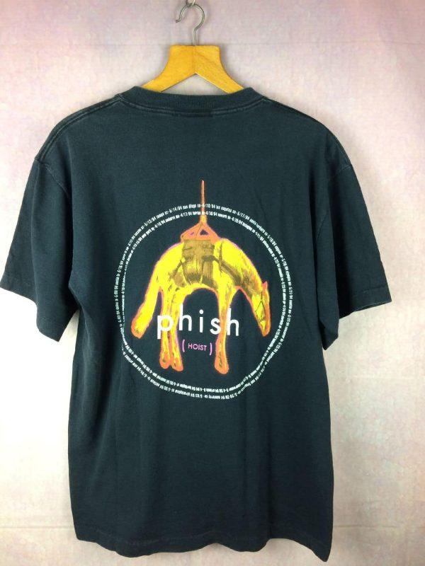 PHISH T Shirt Hoist Tour 1994 Giant Vintage Gabba Vintage 4 - PHISH T-Shirt Hoist Tour 1994 Giant Vintage