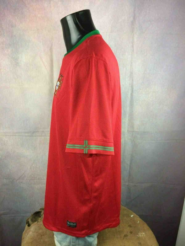 PORTUGAL Jersey 2012 2014 Nike Euro Cup Gabba Vintage 3 - PORTUGAL Jersey 2012 2014 Nike Euro Cup