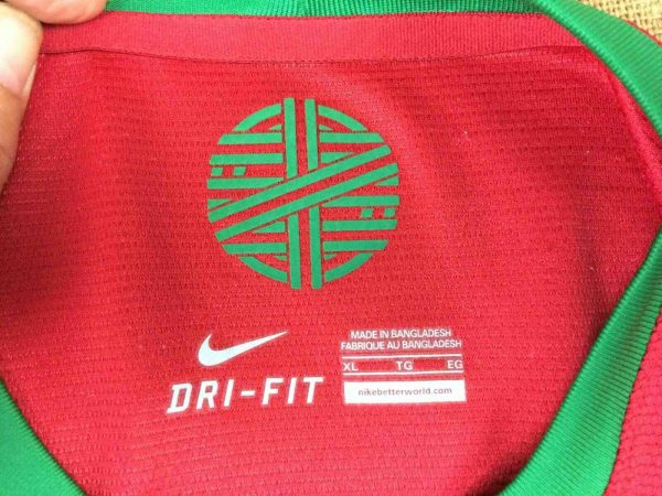 PORTUGAL Jersey 2012 2014 Nike Euro Cup Gabba Vintage 5 - PORTUGAL Jersey 2012 2014 Nike Euro Cup
