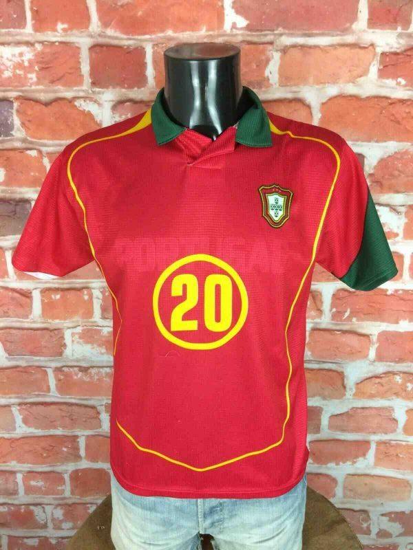 PORTUGAL Jersey Deco 20 Vintage Euro Replica Gabba Vintage 1 - PORTUGAL Jersey Deco 20 Vintage Euro Replica