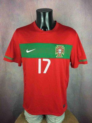 PORTUGAL Jersey Nani #17 2010 World Cup Nike - Gabba Vintage