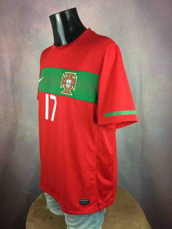 PORTUGAL Jersey Nani 17 2010 World Cup Nike Gabba Vintage 3 scaled - PORTUGAL Jersey Nani #17 2010 World Cup Nike
