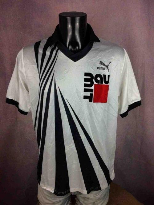 Maillot MIT AU, MarquePuma, Made in West Germany, Porté N°13, Autriche, Jersey Camiseta TrikotFootball