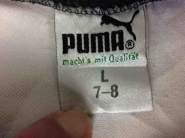 PUMA Jersey Mit Au 80s Made in West Germany Gabba Vintage 5 scaled - PUMA Maillot Vintage 80s West Germany Foot