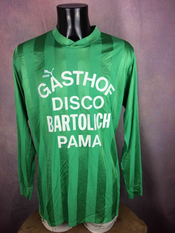 PUMA Jersey Vintage 90s Porté #8 Disco Glanz - Gabba Vintage