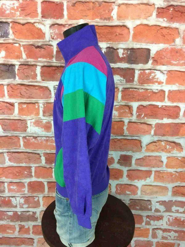 PUMA Veste Vintage 90s Made in France Gabber Gabba Vintage 3 - Veste Vintage PUMA Années 80s Made in France Sport Rave Gabber Unisex