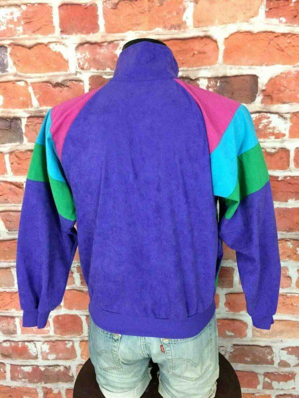 PUMA Veste Vintage 90s Made in France Gabber Gabba Vintage 4 - Veste Vintage PUMA Années 80s Made in France Sport Rave Gabber Unisex