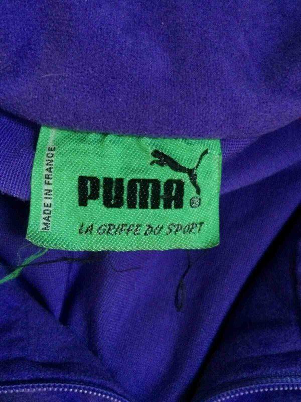 PUMA Veste Vintage 90s Made in France Gabber Gabba Vintage 5 - Veste Vintage PUMA Années 80s Made in France Sport Rave Gabber Unisex