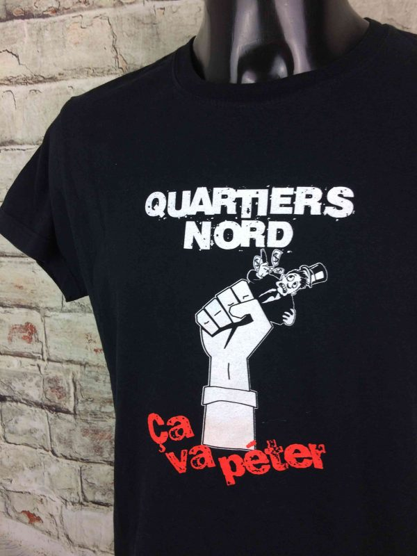 QUARTIERS NORD T Shirt Ca Va Peter Marseille Legends France Collectif OM Rock Gabba Vintage 3 scaled - QUARTIERS NORD T-Shirt Ça Va Péter Marseille