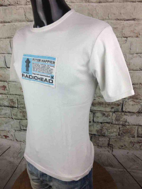 RADIOHEAD T Shirt Fitter Happier WASTE 1997 Gabba Vintage 7 rotated - RADIOHEAD T-Shirt Fitter Happier WASTE 1997