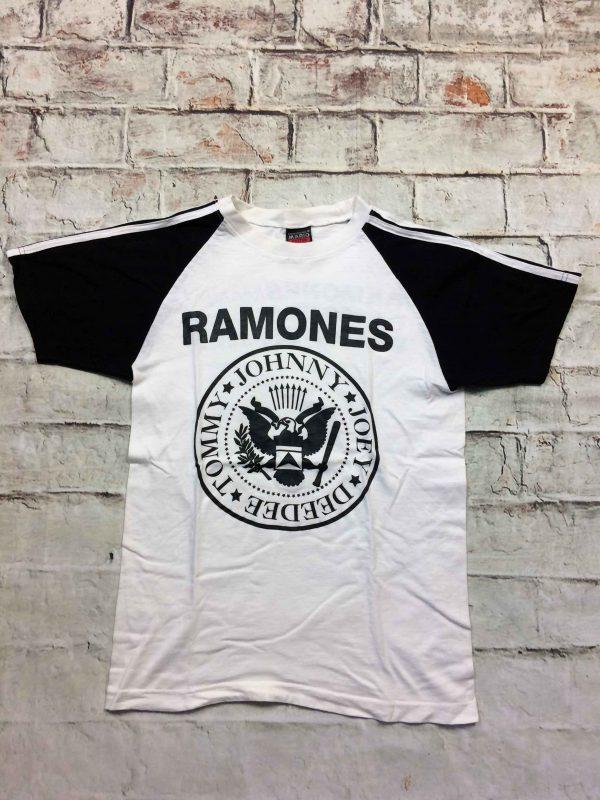 RAMONES Mania T Shirt Logo Double Sided Punk Gabba Vintage 2 scaled - RAMONES Mania T-Shirt Logo Double Sided Punk