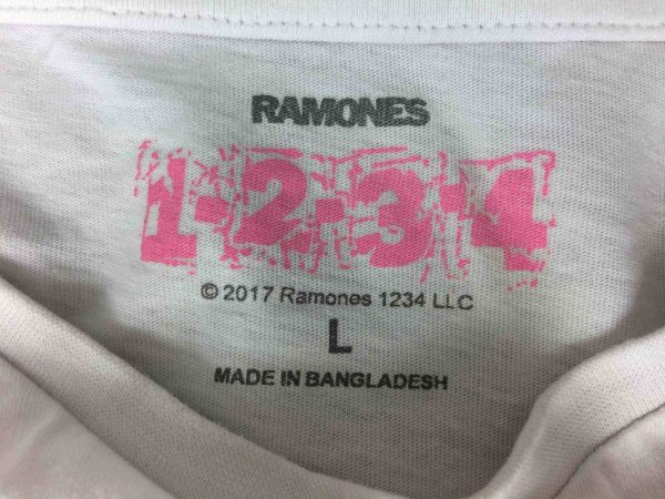 RAMONES T Shirt Loco Live Official License Gabba Vintage 1 scaled - RAMONES T-Shirt Loco Live Official License