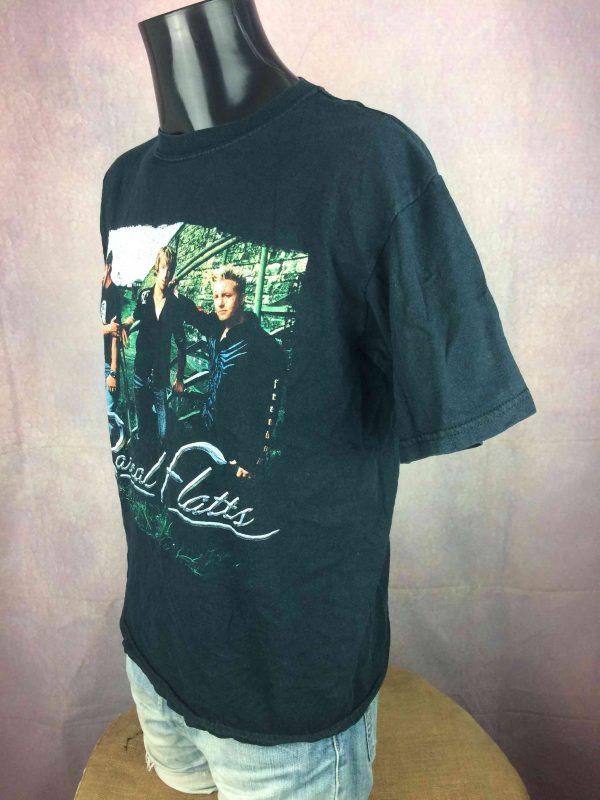 RASCAL FLATTS T Shirt Heres To You Tour 2005 Gabba Vintage 3 scaled - RASCAL FLATTS T-Shirt Heres To You Tour 2005