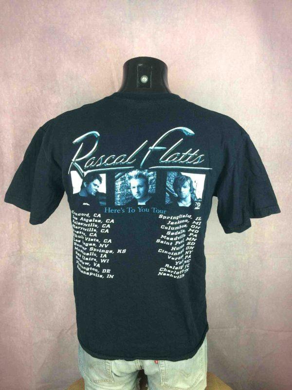 RASCAL FLATTS T Shirt Heres To You Tour 2005 Gabba Vintage 4 scaled - RASCAL FLATTS T-Shirt Heres To You Tour 2005