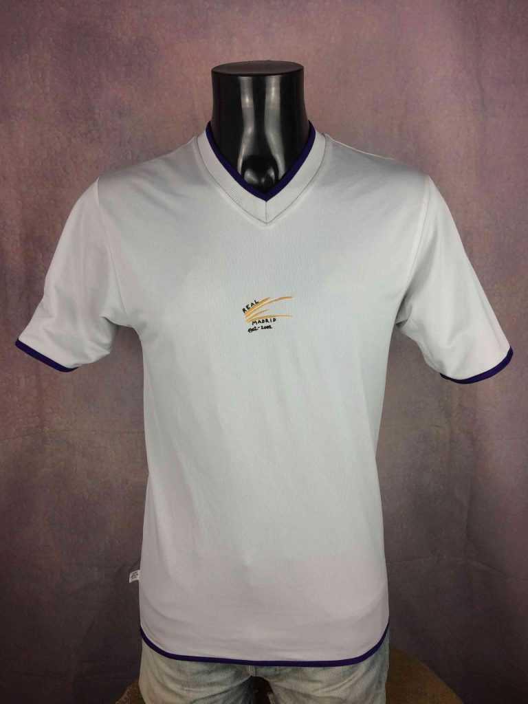 REAL MADRID Jersey 2001 Reversible Adidas Gabba Vintage 7 - Real Madrid 2001: le maillot Third Adidas