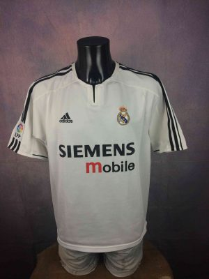 REAL MADRID Jersey 2003 2004 Home Adidas VTG - Gabba Vintage