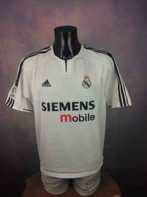 REAL MADRID maillot 2003 2004 Home Adidas VTG - Gabba Vintage