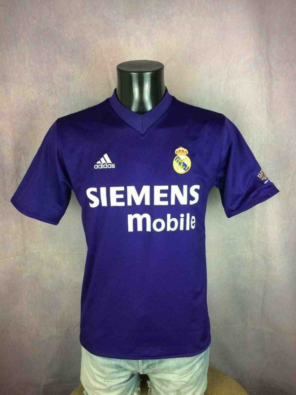 REAL MADRID Jersey 2001 Reversible Adidas - Gabba Vintage