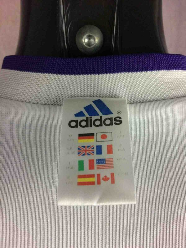 REAL MADRID Jersey Maillot Vintage 2001 2002 Third  57 4 - REAL MADRID Jersey 2001 Adidas Reversible