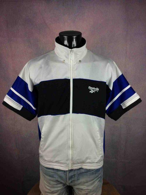 REEBOK Veste Short Sleeves Vintage 90s Blanc - Gabba Vintage (2)