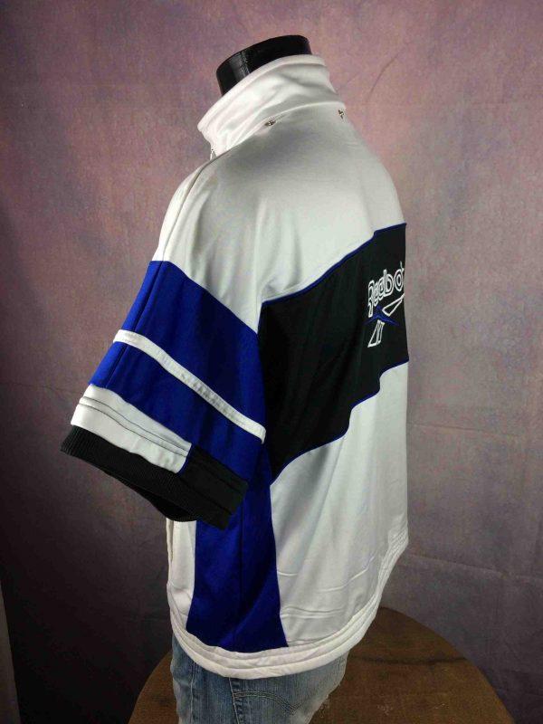 REEBOK Veste Short Sleeves Vintage 90s Blanc Gabba Vintage 5 scaled - REEBOK Veste Vintage 90s Short Sleeves Blanc