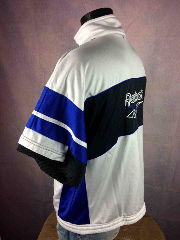 REEBOK Veste Short Sleeves Vintage 90s White Gabba Vintage 4 scaled - REEBOK Veste Vintage Années 90s Manche Courte