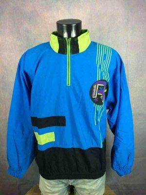 REEBOK Veste Vintage 90s Nylon Design Logo - Gabba Vintage (1)