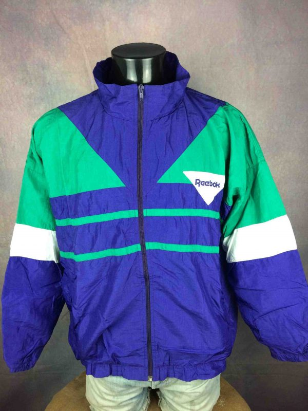 REEBOK Windbreaker VTG 90s Made in France Gabba Vintage 2 scaled - REEBOK Windbreaker VTG 90s Made in France