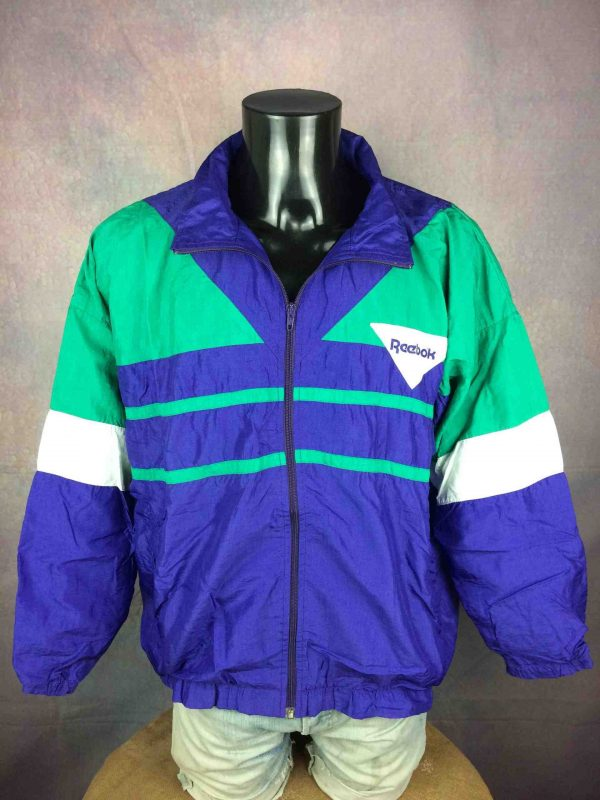 REEBOK Windbreaker VTG 90s Made in France Gabba Vintage 3 scaled - REEBOK Windbreaker VTG 90s Made in France
