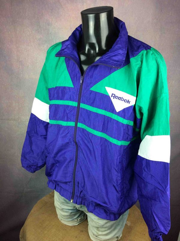REEBOK Windbreaker VTG 90s Made in France Gabba Vintage 4 scaled - REEBOK Windbreaker VTG 90s Made in France